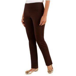 Women with Control Petite Slim Leg Pants 3094